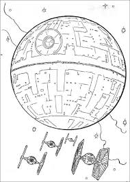 death star drawing outline and death star coloring page eson me