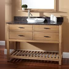 bathrooms design built in rustic wood towel shelf plus vintage