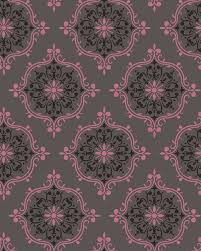 french kiss rose wallpaper tiles contemporary wallpaper by