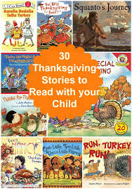 30 thanksgiving stories to read to your child