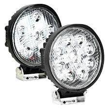round led driving lights ipcw bottom mount 4 round led driving light