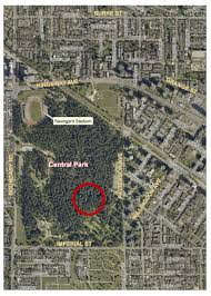 Map Central Park 13 Year Old Found Dead In Burnaby U0027s Central Park Daily Hive