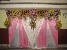 hindu decorations for home hindu wedding stage flower decoration diy wedding money saver