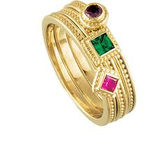 gold mothers rings gold stackable mothers rings stackable birthstone rings gold initial
