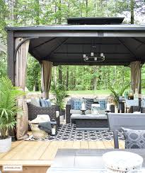 backyard accessories our new backyard patio reveal perfect for entertaining