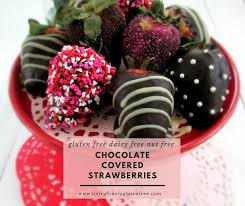 covered strawberries chocolate covered strawberries free of allergens