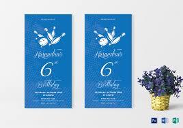 19 outstanding bowling invitation templates u0026 designs free