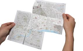paper maps ingenious zoomable paper map wired