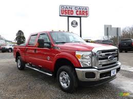 2012 vermillion red ford f250 super duty xlt crew cab 4x4