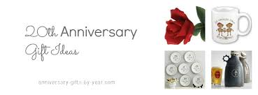 20th wedding anniversary gift best 20th anniversary gift ideas
