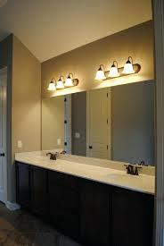 bathroom mirror lighting fixtures amazing bathroom over mirror light fixtures bathroom design ideas