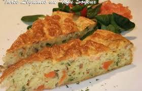 cuisiner le tofu soyeux tarte aux légumes et tofu soyeux recette dukan pl par cecilebeaud