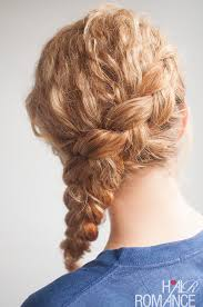 hair braiding styles step by step curly side braid hairstyle tutorial hair romance