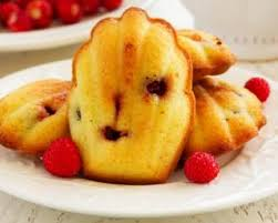 cuisiner sans sucre recette de madeleines sans sucre aux framboises
