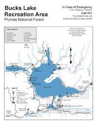 Concord California Map Plumas National Forest Bucks Lake Recreation Area