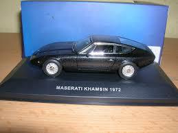 maserati khamsin maserati khamsin year 1972 black 1 43 ixo ebay