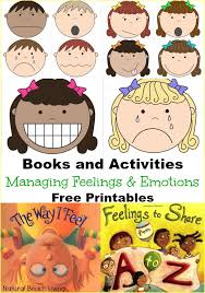 managing feelings and emotions free printables natural beach living