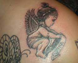 25 wonderful baby angel tattoos slodive