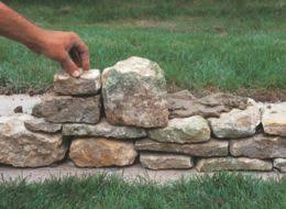 How To Build A Stone by How To Build A Stone Garden Wall Ideas U0026 Advice Diy At B U0026q