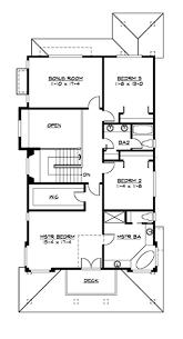 3 bedroom 2830 sq ft craftsman shingle house plan 115 1330