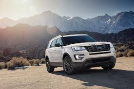 Ford Explorer Lifted - 2017 ford explorer to start at 32 105 ford authority