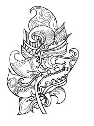 neoteric ideas feather coloring page feather coloring pages