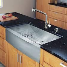 Stainless Kitchen Sink by Stainless Steel Kitchen Sinks You U0027ll Love Wayfair
