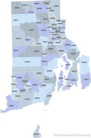 Rhode Island On Map Printable Zip Code Maps Free Download