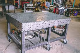 tab and slot welding table building a welding table weldtables com johnmalecki com