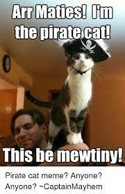 Pirate Memes - 25 best memes about pirate cat pirate cat memes