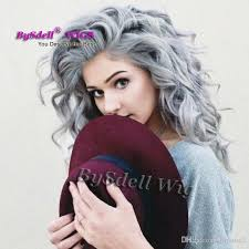 best shoo for gray hair for women silver grey hair long curly hairstyle white gray color perruque