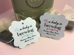 Tea Baby Shower Favors by Baby Shower Favor Tags Thank You Favor Tags Bridal Tea Baby