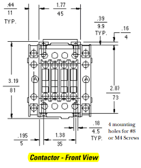 ge 4 pole contactor wiring diagram control power pole wiring