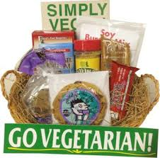 vegan gift baskets go vegetarian gift basket