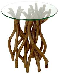 Rattan Accent Table Wicker Accent Tables Image Of Rattan Coffee Table Glass Top Wicker