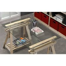 plateau bureau sur mesure cration de bureau sur mesure en bois avec laboutiquedubois pour