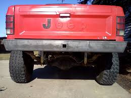 comanche jeep 2014 mj rear bumper nostalgia jeep comanche 86 92 ares fabrication