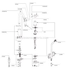 moen 7590 aberdeen single handle pull down sprayer kitchen moen kitchen faucet aberdeen best of moen 7590csl parts list and