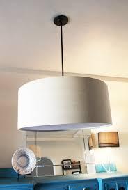 Pendant Light Drum Shade Dining Room Update The Lighting Upgrade Pepper Design Blog