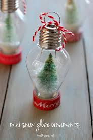 Personalised Snow Globes Tree Decorations Diy Mini Snow Globe Ornament Diy Snow Globe Globe And Ornament