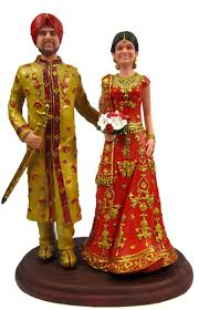 customized cake toppers indian wedding cake topper customized to your wedding