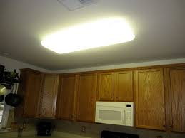Replace Fluorescent Light Fixture In Kitchen Beautiful Kitchen Fluorescent Light Fixture For Interior
