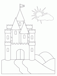 castle coloring pages fablesfromthefriends com