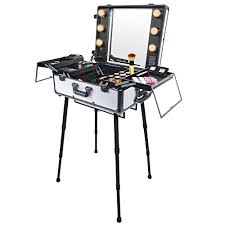 professional makeup stand shany studio to go makeup with light pro makeup