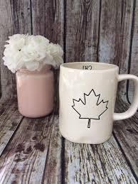 find more rae dunn canada maple leaf eh mug for sale at up to 90