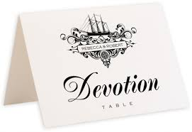 Table Name Cards by Seaworthy Navigation Vintage Monogram And Flourish Wedding Table