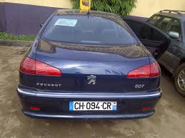 peugeot 607 1st body non accidental peugeot 607 for sale in lagos tokunbo