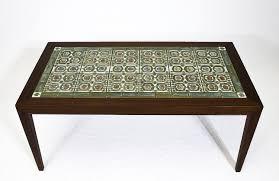 Copenhagen Desk Rosewood Coffee Table With Royal Copenhagen Tiles U2014 Denmark 50