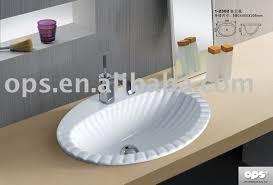 shell look drop in wash basin sink l 12302 buy sink bathroom