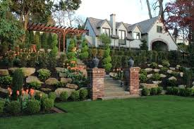 large backyard landscape plans front yard and landscaping ideas